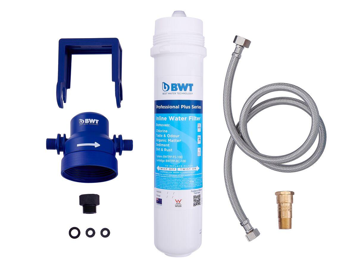 BWT Professional Plus Series Inline Water Filter Kit 0.5 Micron