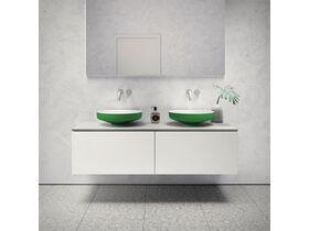 Venice 450 Counter Basin Solid Surface Softskin Emerald Green