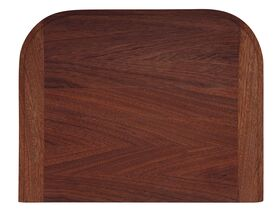 AFA Flow Chopping Board Solid Wood Mahogany