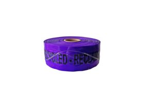 Bridgland Detectable Tape Recycled Water 100mm x 250mtr