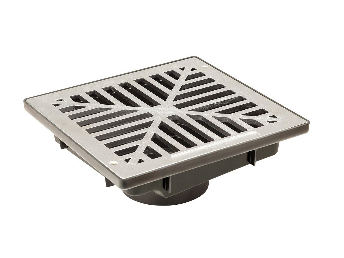 Reln Uni-Pit with Flush Plain Aluminium Grate