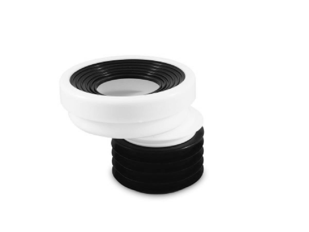 Approved Flexible Offset Pan Connector 100mm x 40mm
