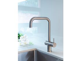 Scala Sink Mixer Tap Large Square Spout Right Hand 316 Stainless Steel (4 Star)