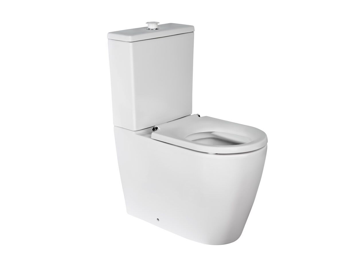 Wolfen Ambulant Close Coupled Back To Wall Toilet Suite White (4 Star)