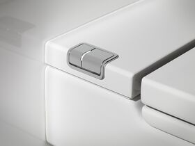 Roca Meridian In Tank Wall Hung Pan with Soft Close Seat White (4 Star)
