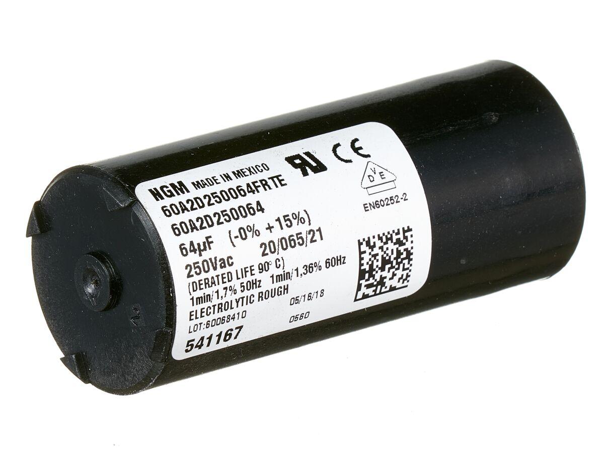 Tecumseh Start Capacitor 64MFD 260V 640154