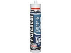 Soudal Pureseal Kitchen & Bathroom Neutral Silicone Clear 300g