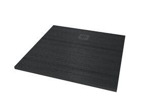 Roca Cyprus Stonex Shower Floor 1000 x 1000mm Pizarra with Matching Waste