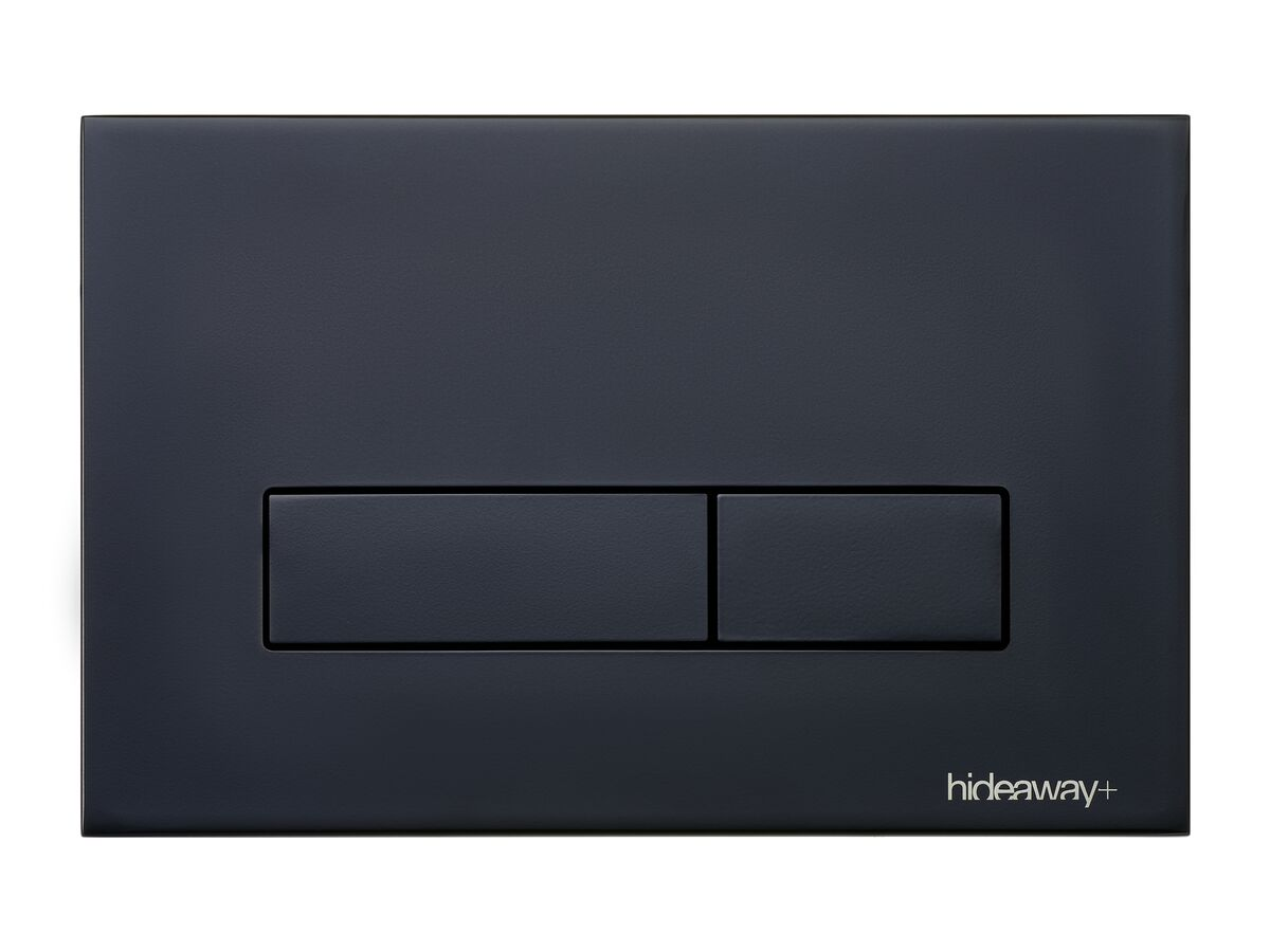 Hideaway+ Metal Button Matte Black
