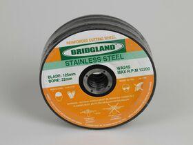 Bridgland Stainless Steel Cutting Disc 125mm x 1mm x 22mm