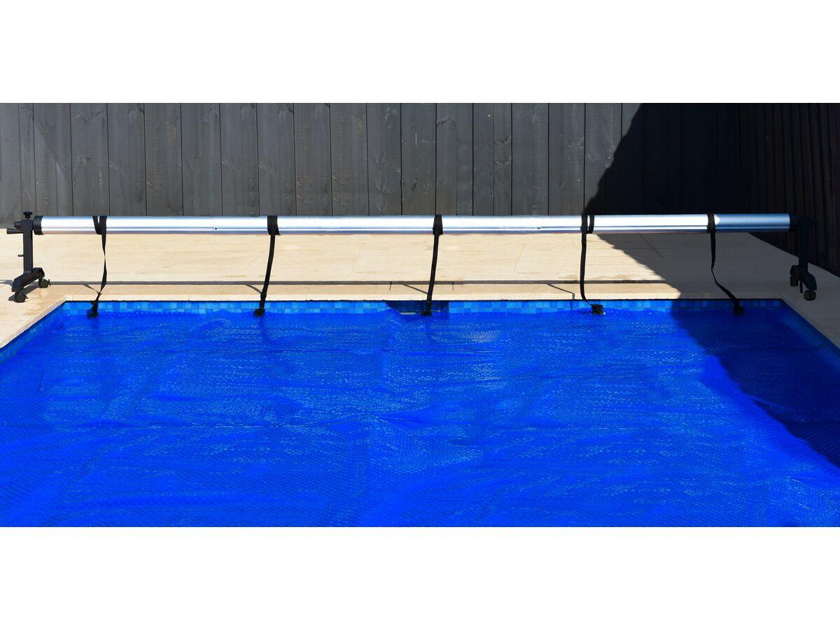 Henden Mobile Pool Roller Black