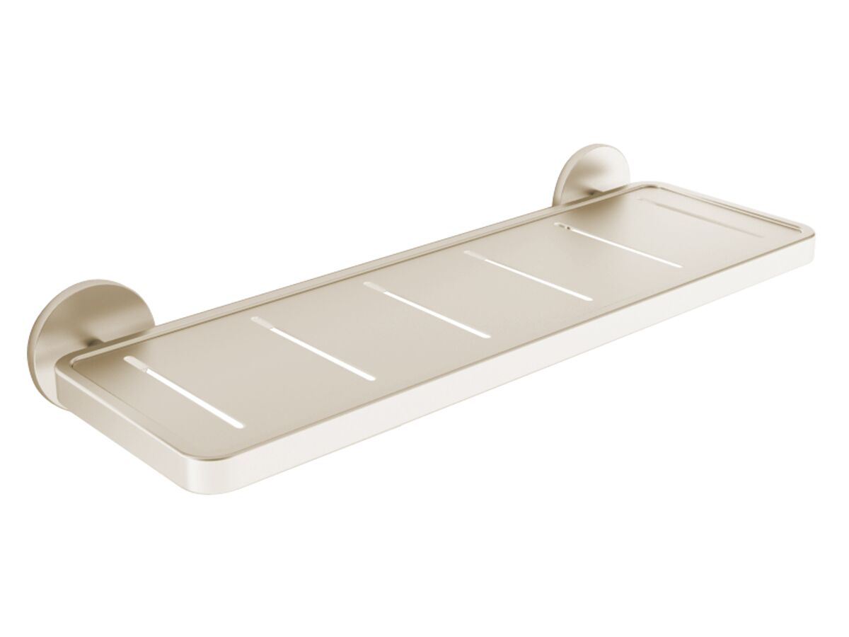 Milli Exo Shower Shelf Brushed Nickel