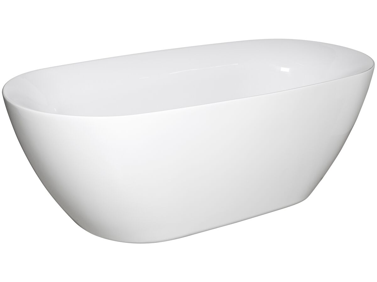 Kado Lux Oval Freestanding Bath 1750x800x600 White