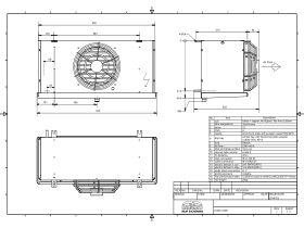 Cabero Evaporator Low Temperature CH4C1-35E-1