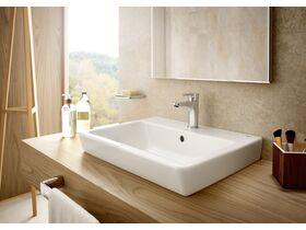 Roca Easy Semi Inset Basin 550mm x 450mm 1 Taphole White