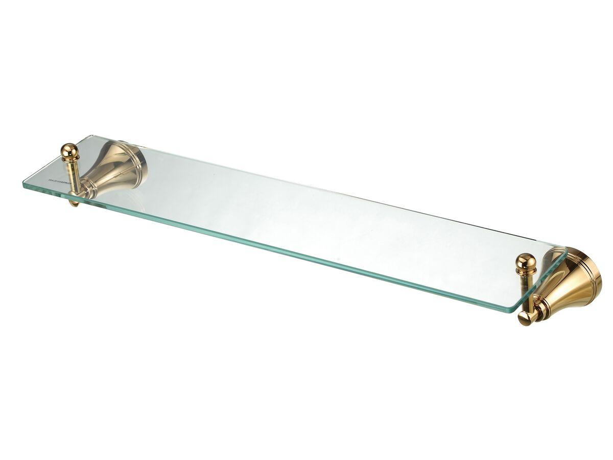 Kado Classic Shower Shelf Brass Gold