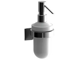 Sonia S3 Soap Dispenser Chrome/ Glass