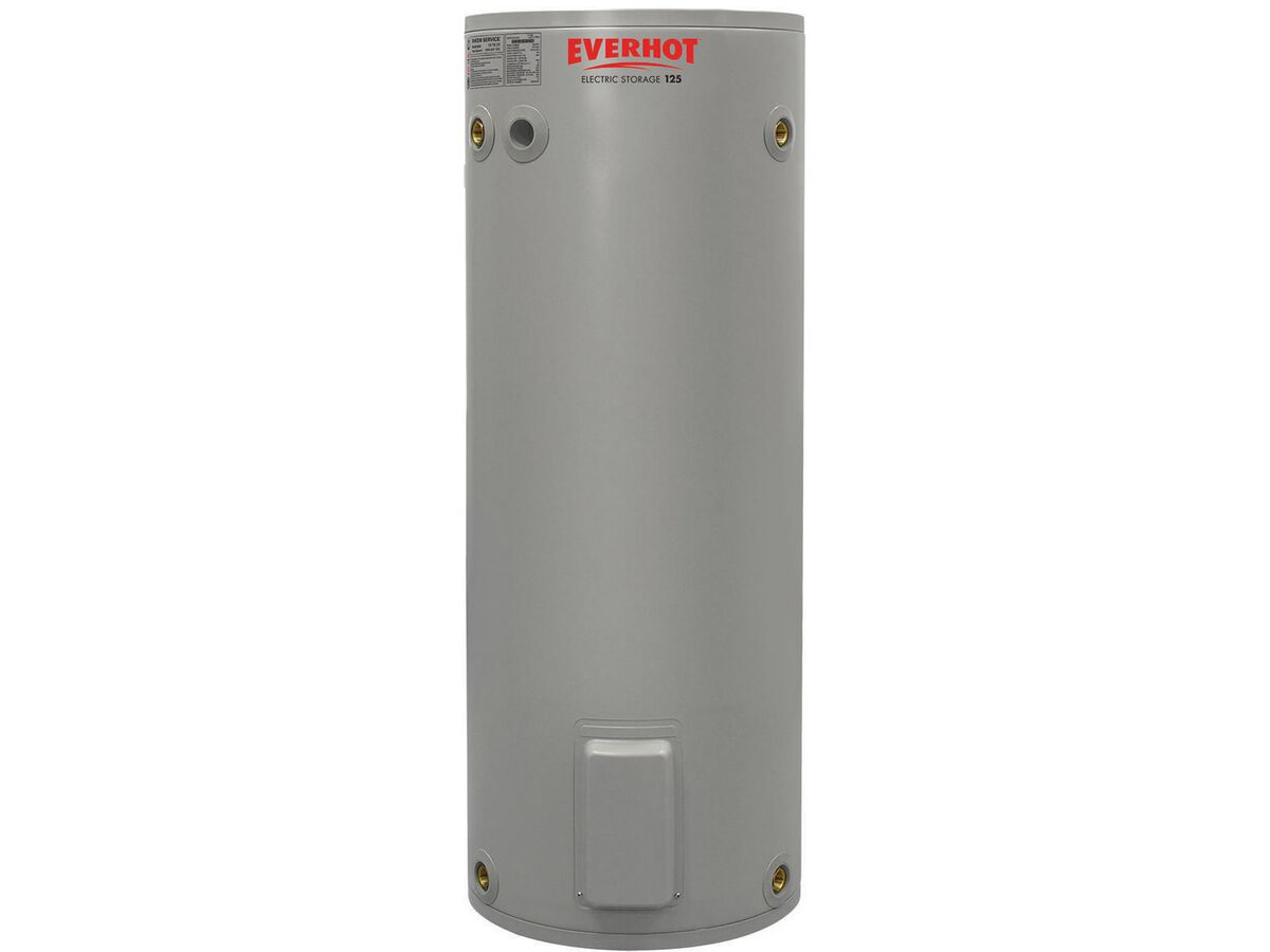 Everhot Electric Hot Water Unit Single Element 125Ltr 3.6Kw