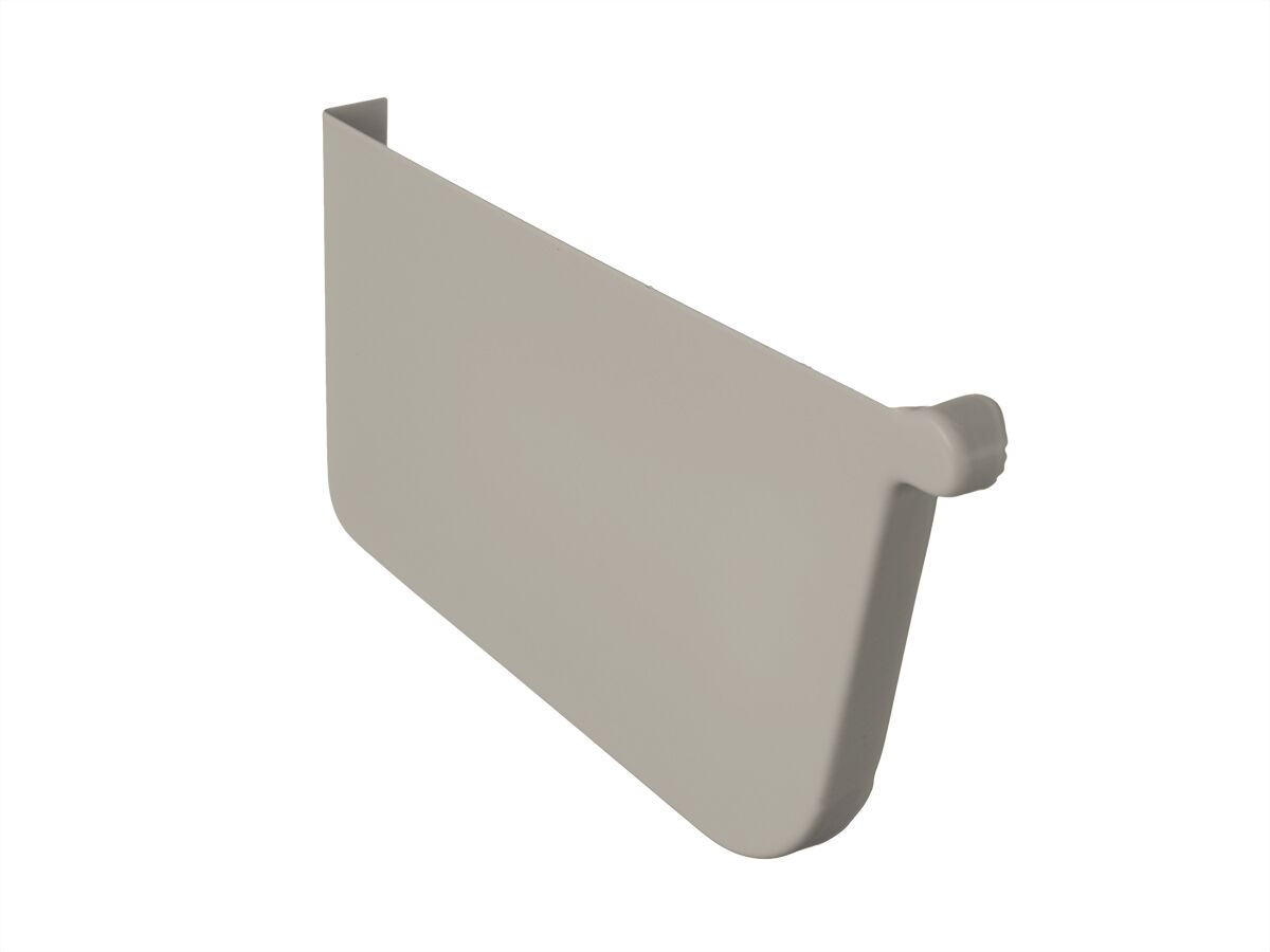 Quad Stop End Plate 115mm Left Hand Dune