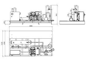 Tecumseh Semi Hermetic Receiver Unit SHR4620ZHR