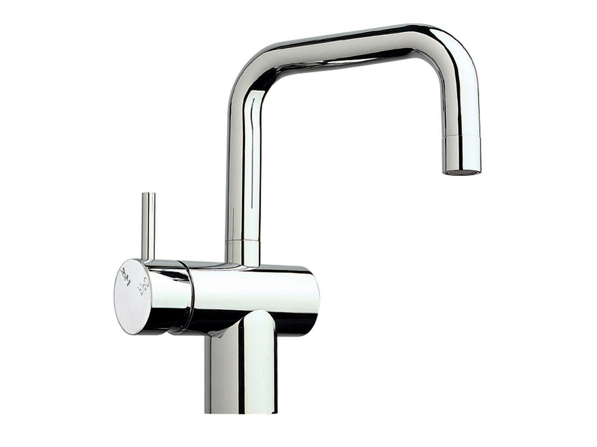 Scala Sink Mixer Small Square Spout Left Hand Chrome (4 Star)