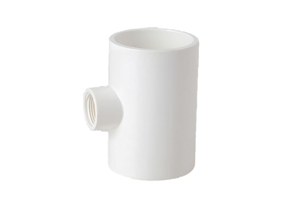20mm x 15mm PVC Faucet Tee (Cat. 21)