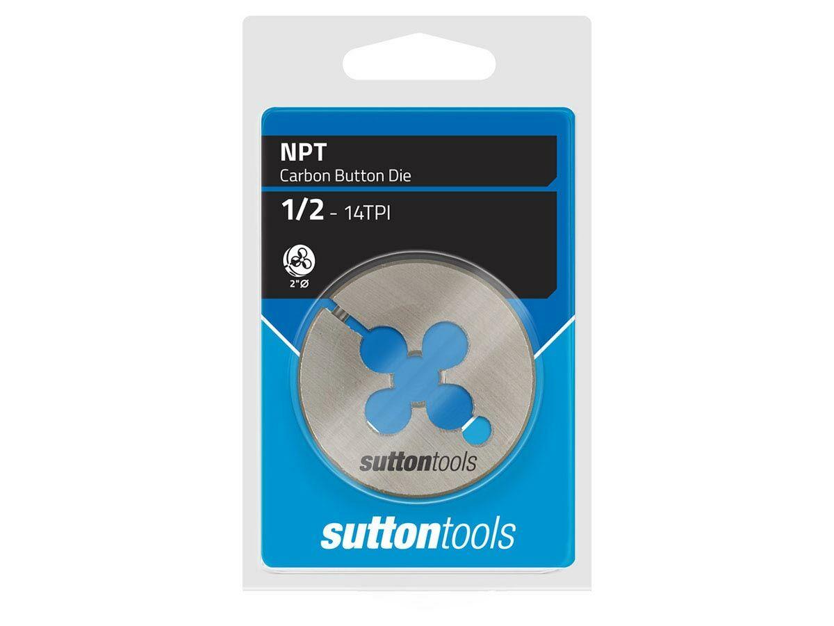 """Sutton Die Button 2DIA 3/4"""" NPT"""""""