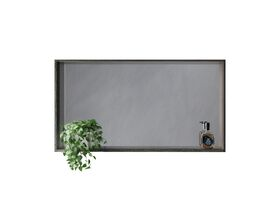 Venice 1200mm Box Frame Mirror Mali Wenge