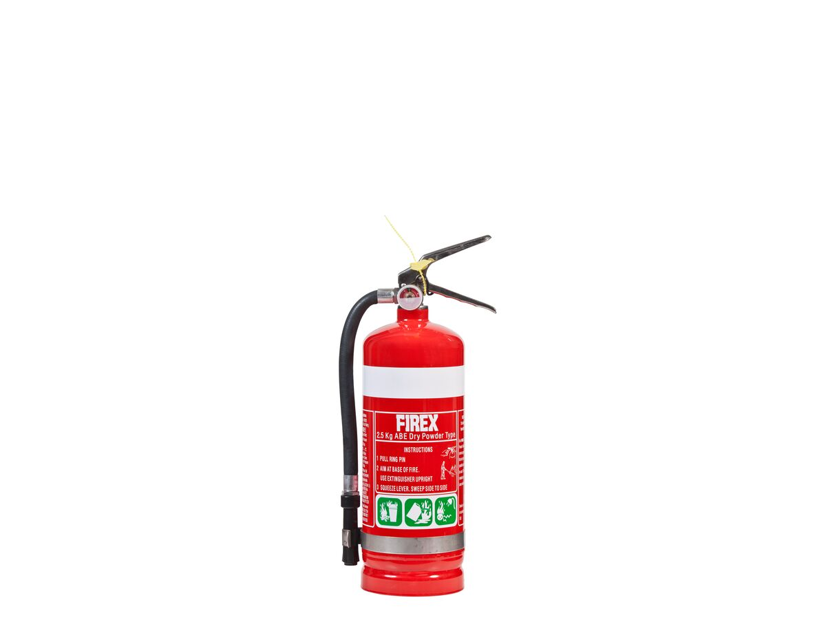 Fire Extingguisher 2.5Kg Dry Chem (3A:40B[E])