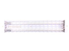2 by 10W Emergency Batten 600mm (2ft) Wireguard