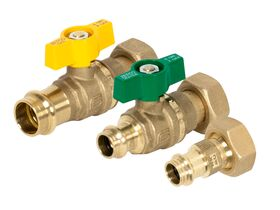 Zetco Valve Kit - Water & Outlet Fitting Family Press-fit and Gas Family Press-fit W20/G20
