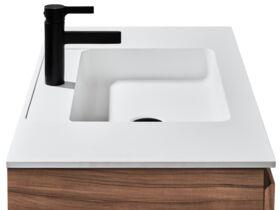 Tasca Slimline Wall Hung Vanity Unit Single Bowl 900mm