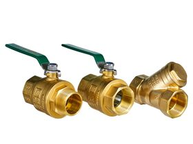 Wilkins Backflow Double Check Valve with Ball Valve 40mm