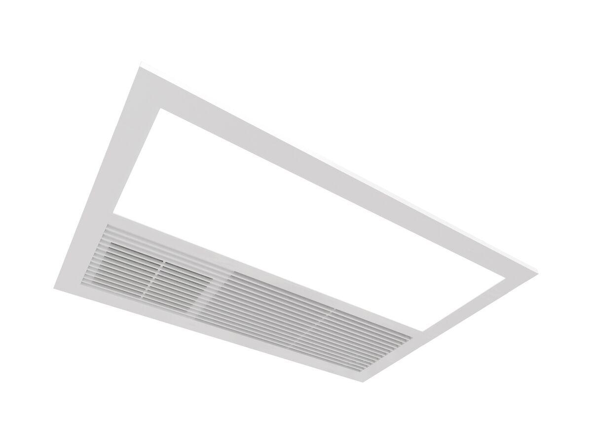 Kado Lux 3 in 1 Fan Heater (LED) White