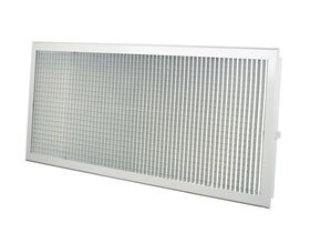 Aluminium Eggcrate Rectangle L/Core
