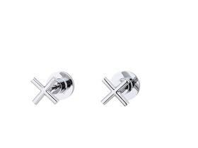 Posh Solus Wall Top Assembly Chrome (Pair)