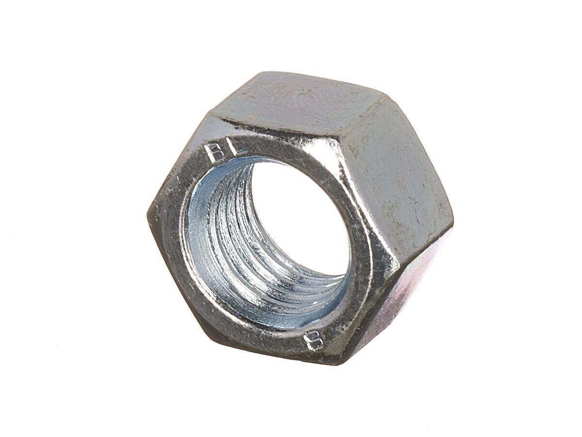 Bridgland 16mm Zinc Plated Hex Nut (50)