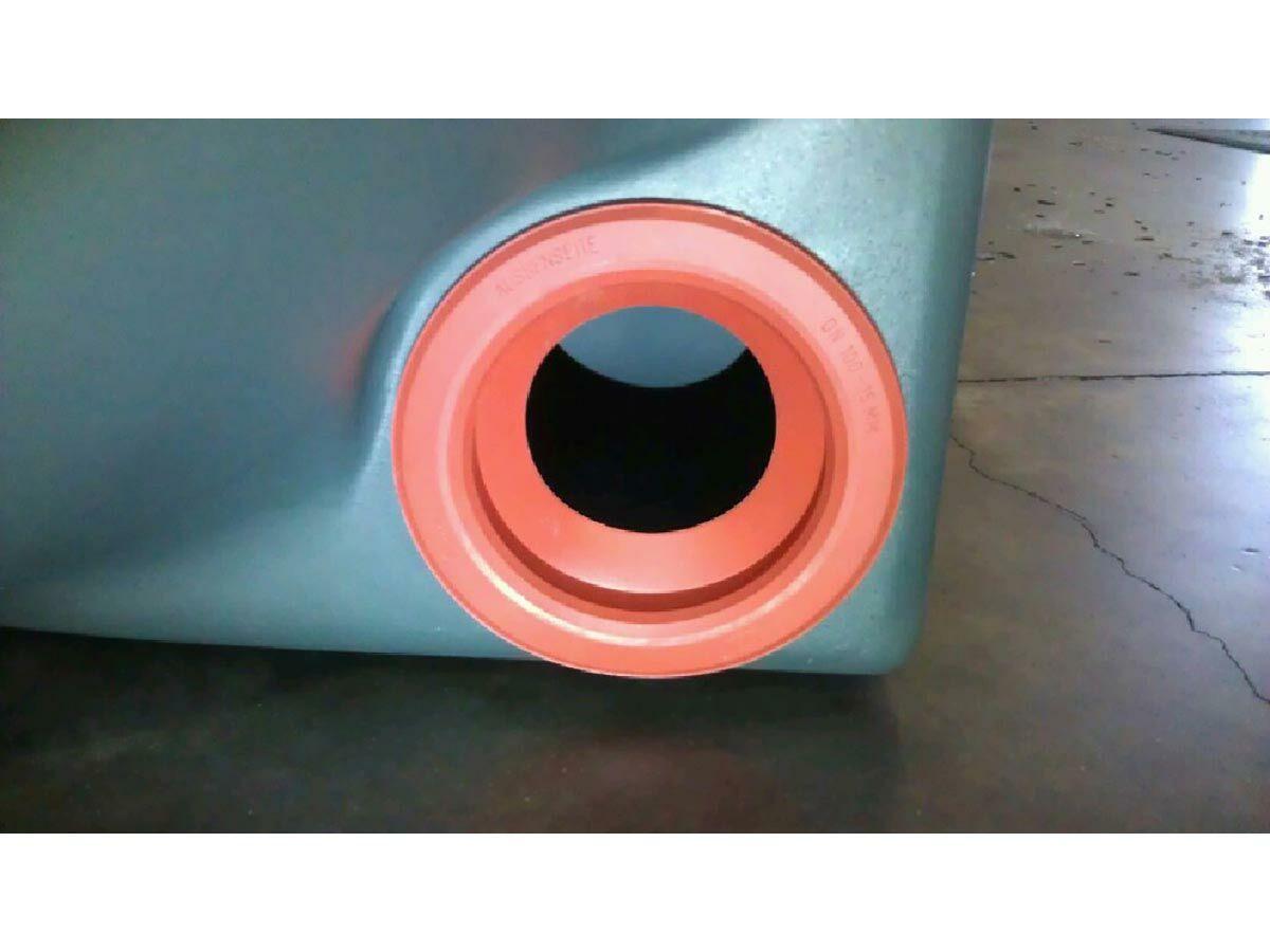 Graf Platin Interconnect Tank Seal - Red