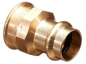 ">B< Press Water Female Coupling 20mm x 3/4"" BSP"""