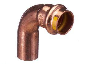>B< Press Gas Elbow Male & Female 90 Degree x 20mm