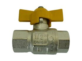 1/4 TEE HANDLE GAS BALL VALVE F/F""""""""""""