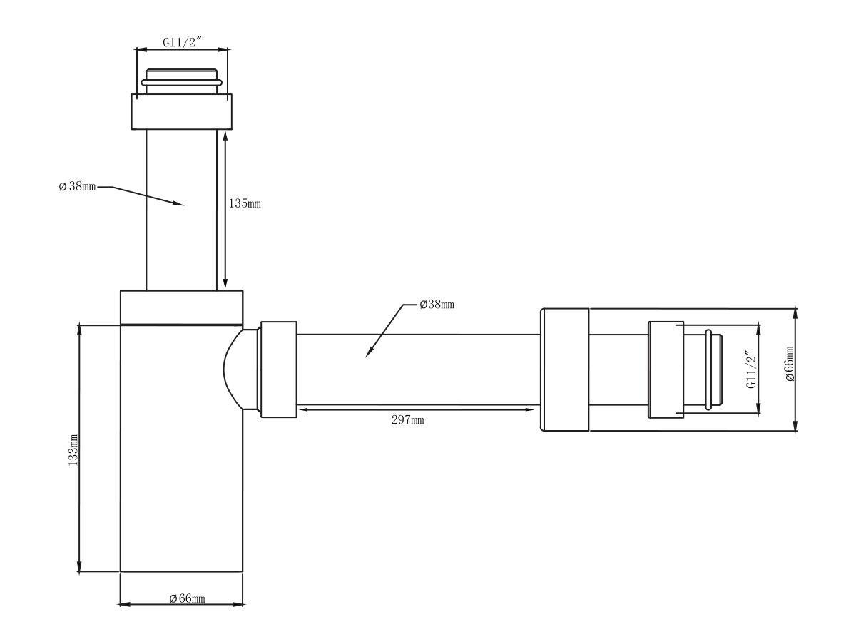 Mizu Drift Bottle Trap (New) 40mm