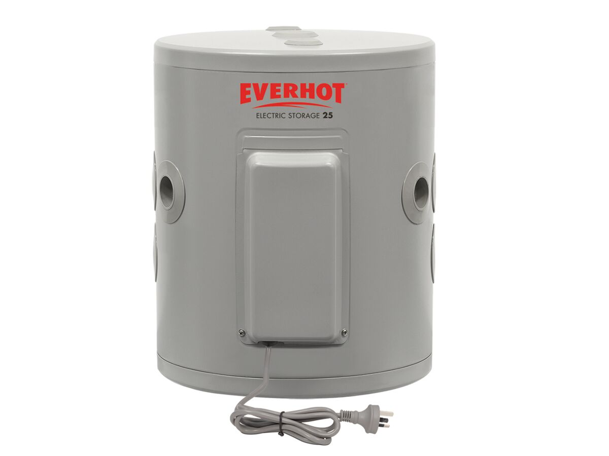 Everhot 25L 2.4kW Single Element Plug In Electric Hot Water System