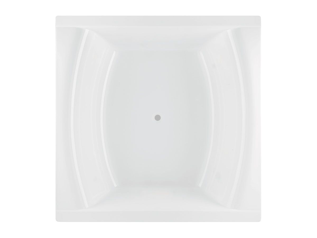 Lanark Shanti Square Bath 1500 x 1500 x 515mm White