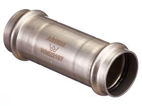 >B< Press Stainless Steel Slip Coupling 35mm