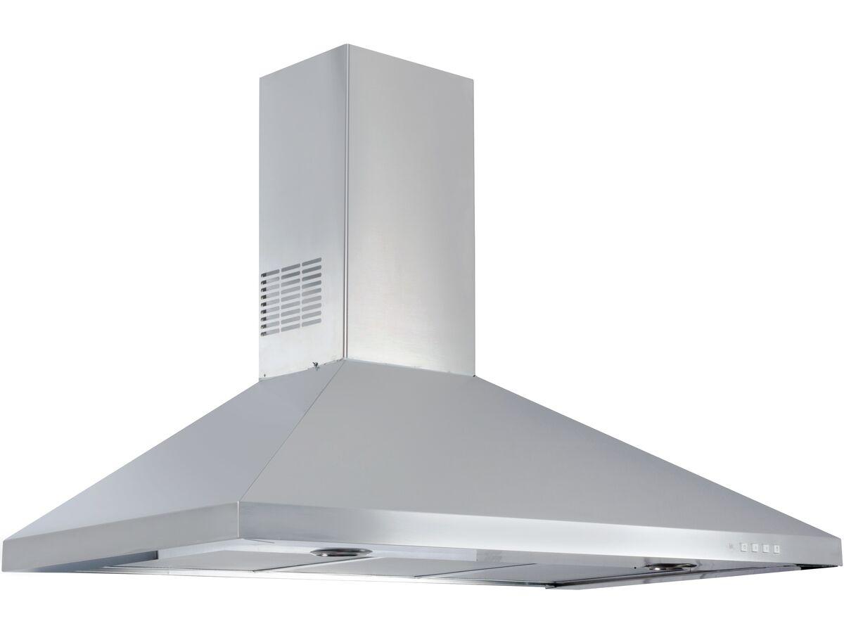 Franke Designer 3-Flare Canopy Rangehood 90cm Stainless Steel