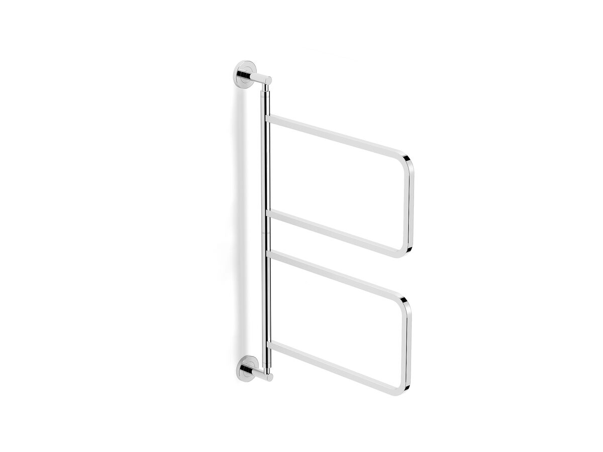 Milli Axon Multi Towel Rail Swivel Small Chrome