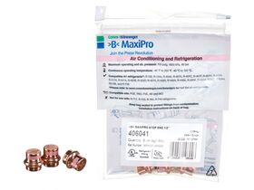 """>B< Maxipro Stop End 1/2"""" Bag of 3"""""""