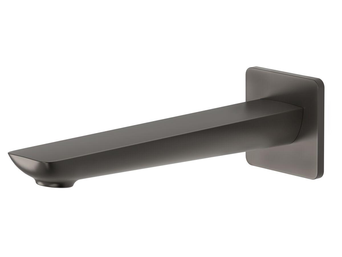 Milli Glance Wall Basin Outlet 180mm Gunmetal