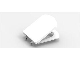 Dama Senso Compact MKII Soft Close Quick Release Seat White/Chrome